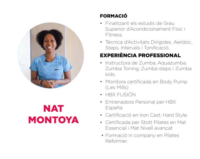 Nat Montoya_CV tècnics